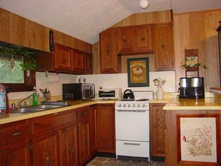 Great Barrington cottage photo - Fully Equipped Bright Sunny Kitchen