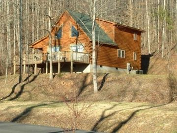 Rutherfordton cabin rental - Riverdance Cabin overlooking the Green River .... minutes from Tryon Resort.
