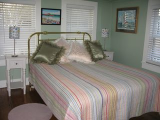 Provincetown townhome photo - Settle in to your 1st floor bedroom,