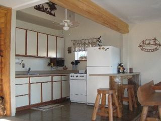 Lapeer cabin photo - Kitchen and part of dining area