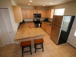 South Padre Island house photo - Upper unit - Kitchen