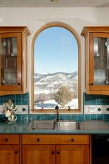 Snowmass house photo - Kitchen mountain view