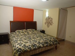 Cabo Rojo apartment photo - Master bedroom - king size bed and private bathroom.