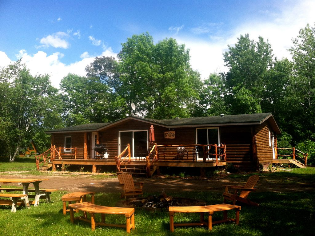 cozy rustic cabin on mille lacs lake vrbo