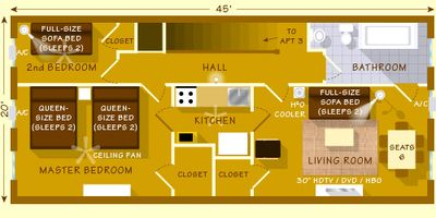 MACON MANOR Apt 4 of 4: Floor Plan