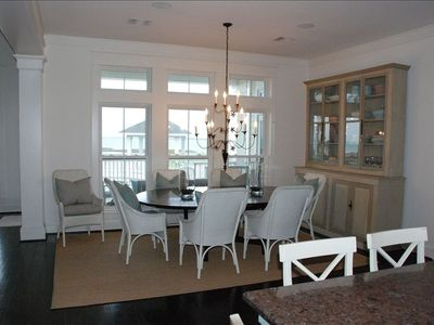 Dining Room (with View of Porch and Bay)