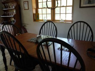 Ascutney house photo - dining area-seats up to 10 people!