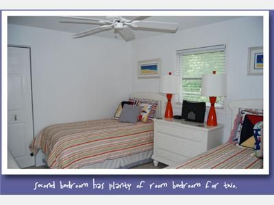 Fort Myers Beach cottage rental - 2nd bedroom