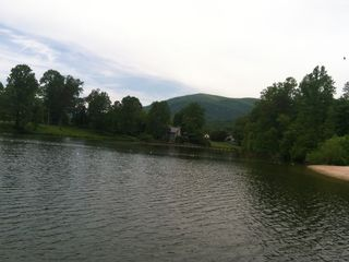 Wintergreen house photo - Lake Monacan in May.