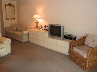 Great Room just steps from beach