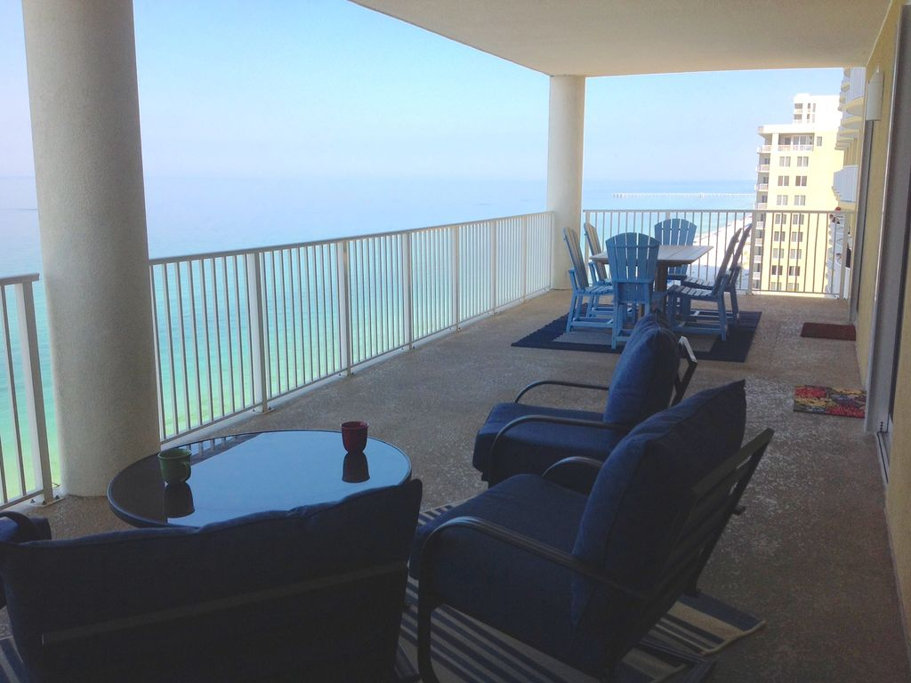 Ocean ritz june 18 25 just opened last summer week for Balcony overlooking ocean
