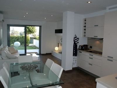 Luxury accommodation, 108 square meters, with garden