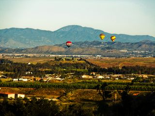 Wake up each morning with Hot-air Balloons - Temecula estate vacation rental photo