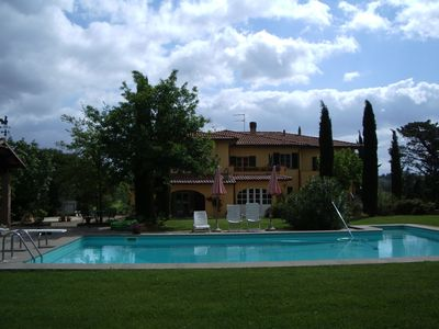 Tuscany tip, cottage w/pool, panorama, 4-6 people