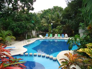 Playa del Carmen house photo - Community Pool behind house
