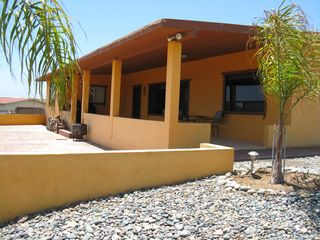 San Quintin house photo - Our patio with the veiw of the south coastline.