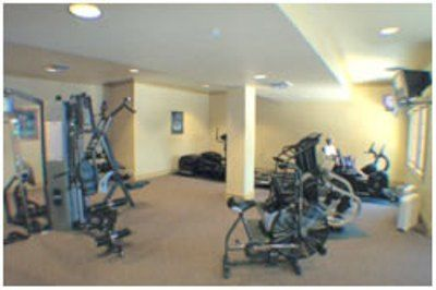 Fully equipped Fitness Center lower level of Clubhouse