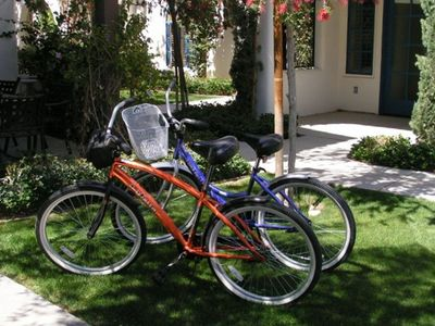 Touring Bikes available for your use