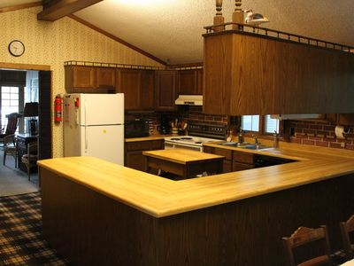 Very large fully equipped kitchen