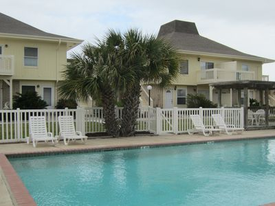 Port Aransas villa rental - Pool area