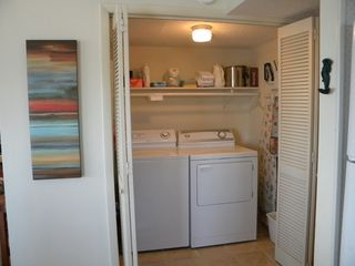 North Topsail Beach condo photo - Laundry Area