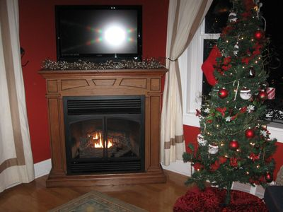 Mayfield house rental - Warm and Cozy Gas Fireplace for the Cold Winter Days