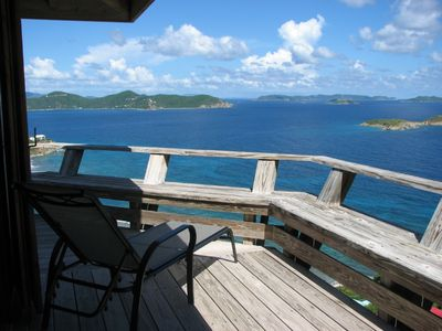 Views towards BVI's and the East End of St. John