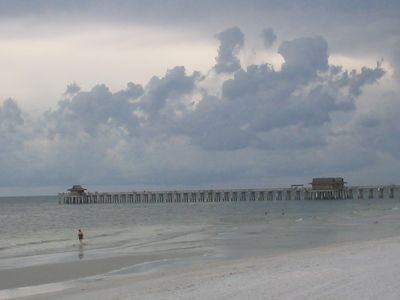 Pier at Ft. Myers beach only a few miles away