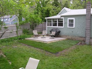 New Deck added Summer of '09 - Wellfleet cottage vacation rental photo