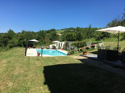 Farmhouse with Large Private Pool and Beautiful Views in Large Grounds