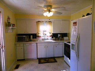 Chimney Rock cottage photo - Fully equipped kitchen with dishwasher installed in 2012.