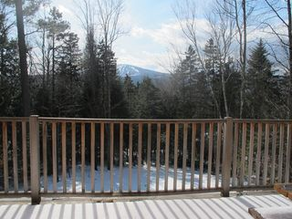 Winhall house photo - View of Stratton Mountain from living room sliding doors.