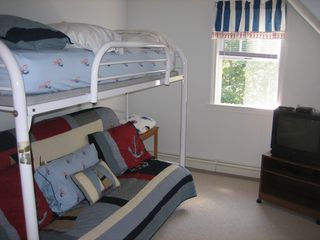 Chatham house photo - 3rd Bedroom Bunk Room -Full on bottom/Twin on top