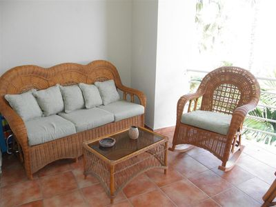 Terrace sitting area