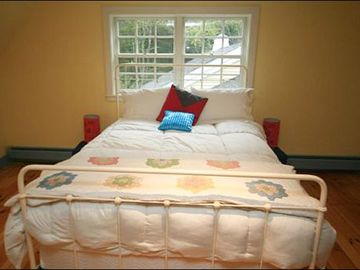 Queen Bed in the Third Bedroom