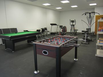 New game room and workout facility for your enjoyment.