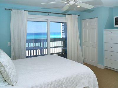 Master Bedroom with Gulf View & Private Balcony