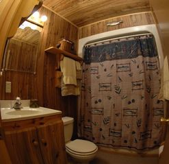Clayton cabin photo - Bath #1