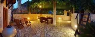 Dubrovnik house photo - Garden @ night....
