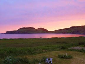 Twillingate cottage photo - View from deck