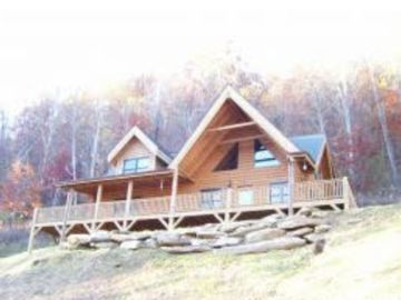 Maggie Valley cabin rental - Front View