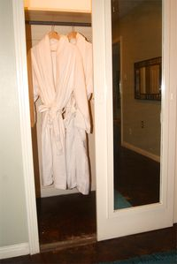 Plush bathrobes for lazy mornings