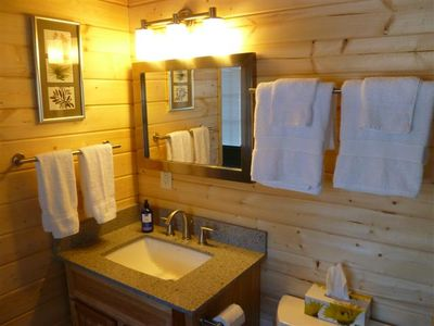 Talkeetna cabin rental - Separate bathroom