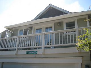 Santa Cruz apartment photo - Apartment balcony. Plenty of street parking available on Phelan Court.