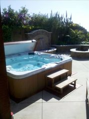 Carlsbad house photo - The other half of patio with the Jacuzzi, ooh so nice!