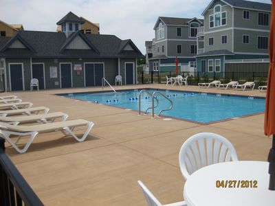 Corolla villa rental - Community Pool