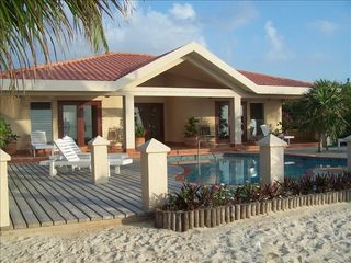 Ambergris Caye house photo - Hacienda Front - Facing Caribbean