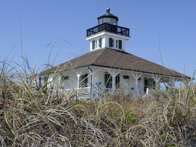 Lighthouse from the Boca Grande Pass