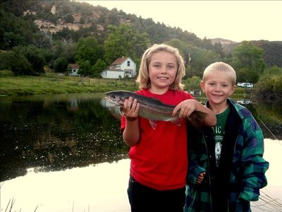 Private Fishing Hole, Mountain View, Family Friendly Heritage-Rich Farmhouse