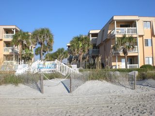 Garden City Beach condo photo - View from the Beach